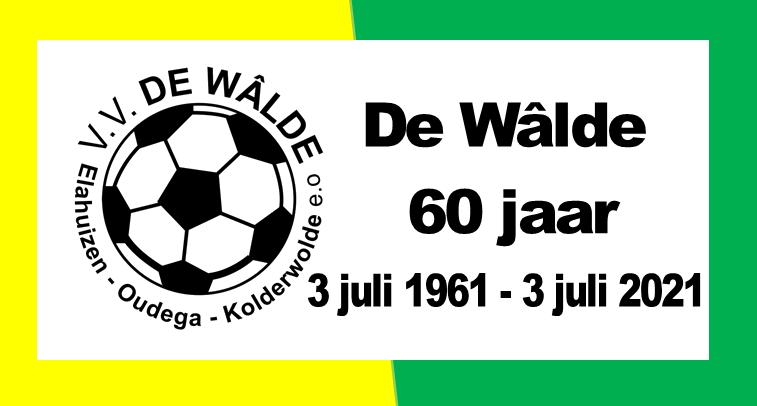 De Wâlde bestaat 60 jaar!